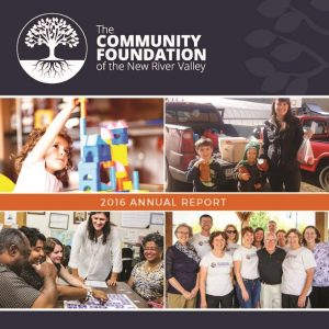 2016 CFNRV Annual Report Cover