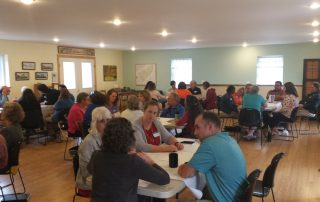 Thrive Food Access Network Participants during community conversations in 2016.