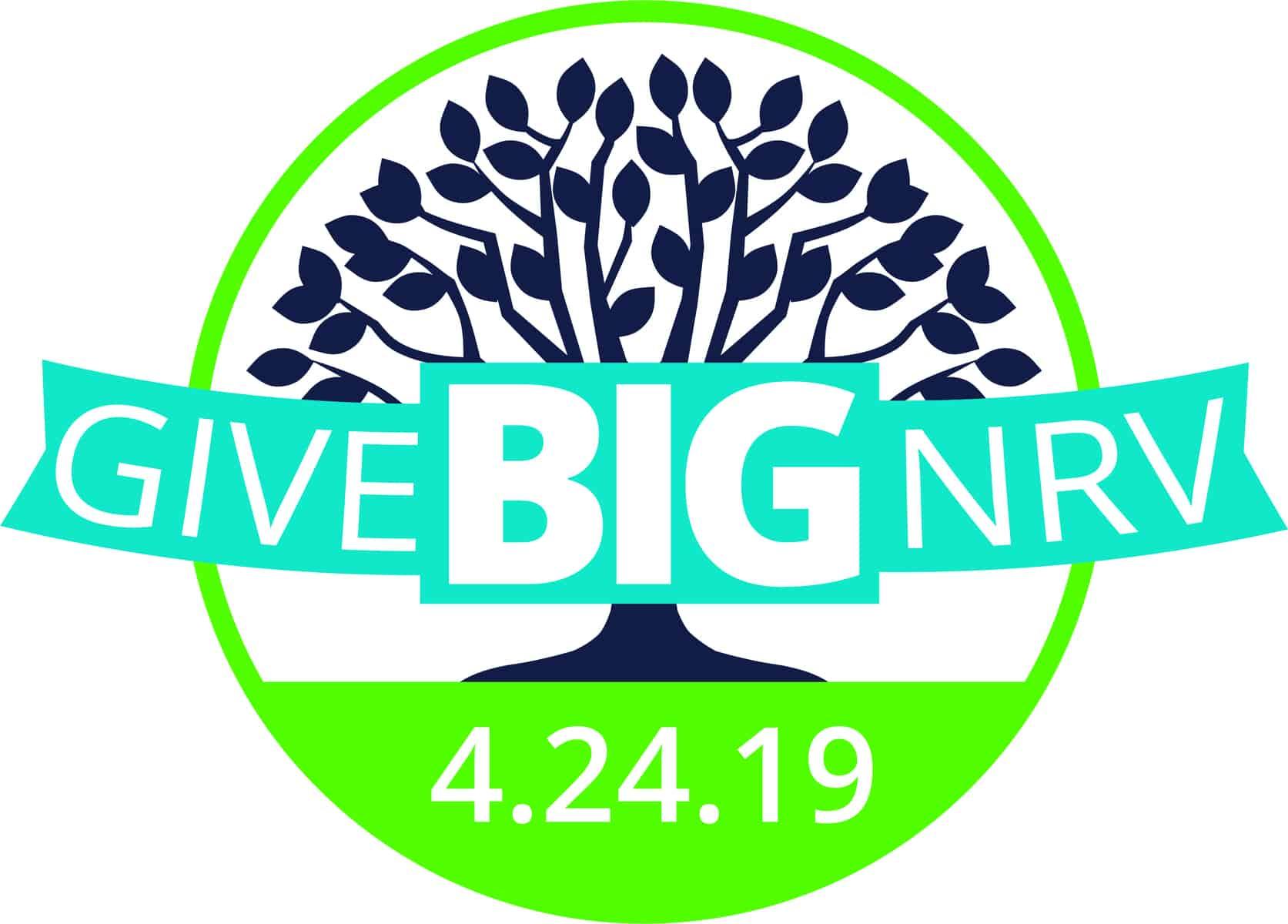 GiveBigNRV logo for April 24, 2019