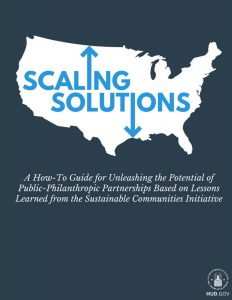 Scaling Solutions Report HUD report on public and philanthropic partnerships.